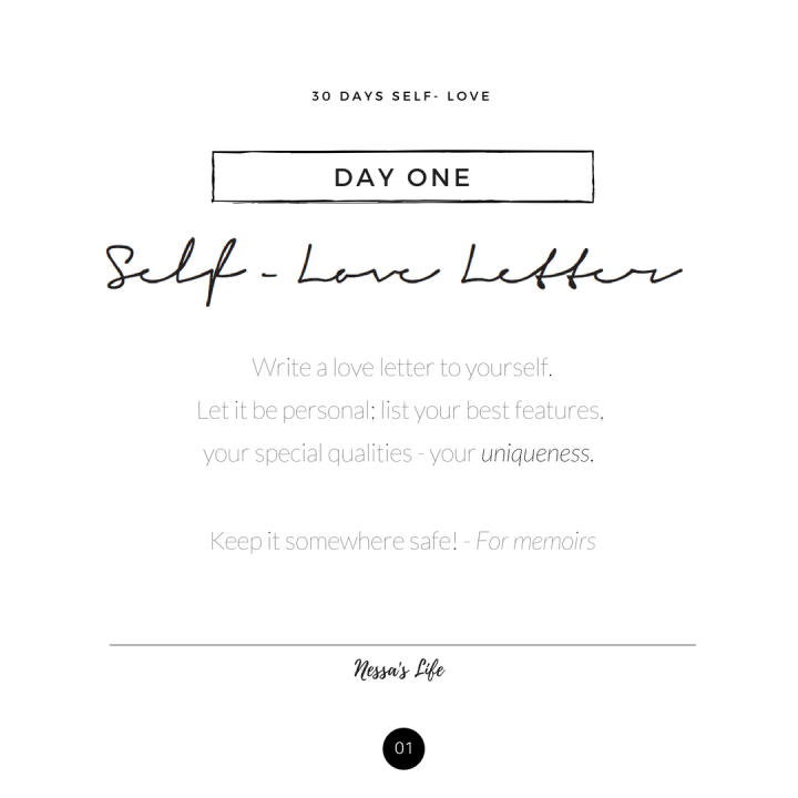 30 days self- love (1)